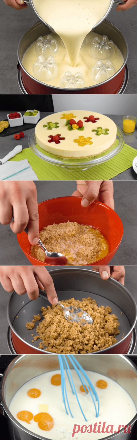 Попробуйте в форму для торта погрузить 6 бутылок и вы удивитесь результату — Бабушкины секреты