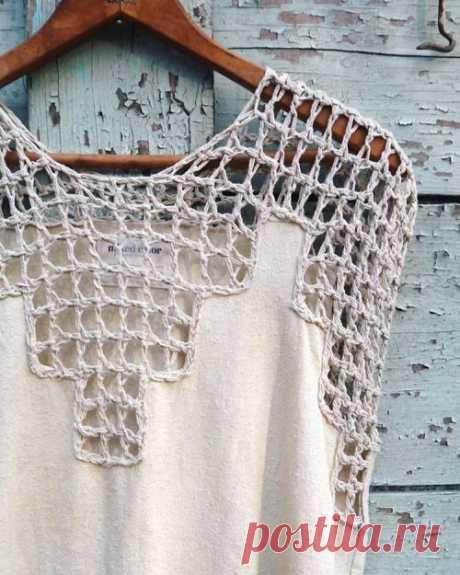Ткань+ вязание - в поисках вдохновения