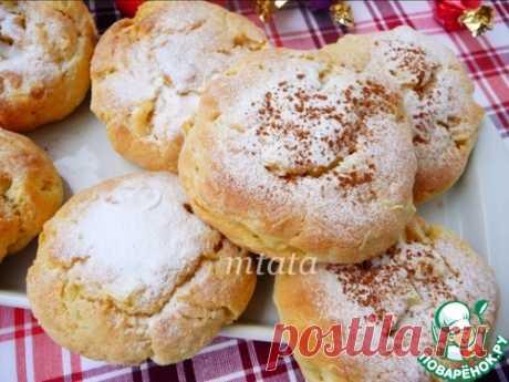 Яблочно-творожные булочки – кулинарный рецепт