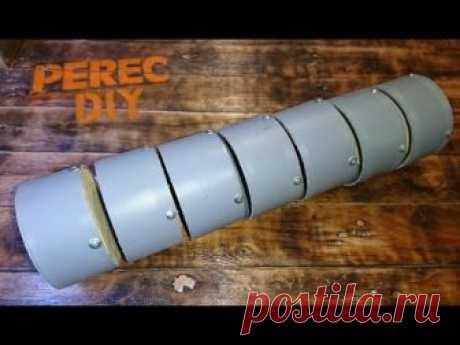 Полезное изобретение из остатка канализационной трубы