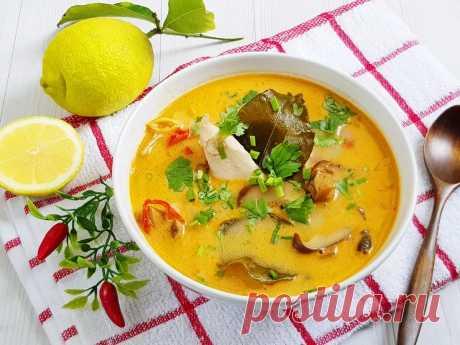 Том-ям. Кисло-острый тайский суп
