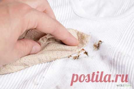 Как вывести с одежды жирные или масляные пятна — Полезные советы