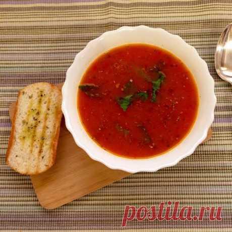 Томатный суп   edahub.ru