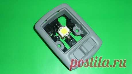 Как подключить светодиод от 12 Вольт в авто. Модернизация салонного освещения | Гараж Кураж | Яндекс Дзен