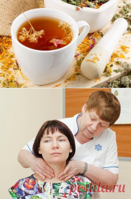 Лучшие рецепты народной медицины от болезней щитовидки.