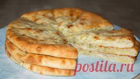 Замечательные осетинские пироги с капустой и сыром 👍 Устоять невозможно