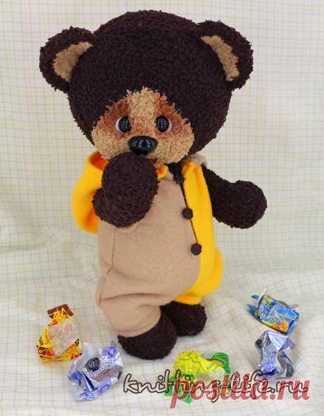 Медвежонок Тишка - Мишкина берлога - Вязаная жизнь