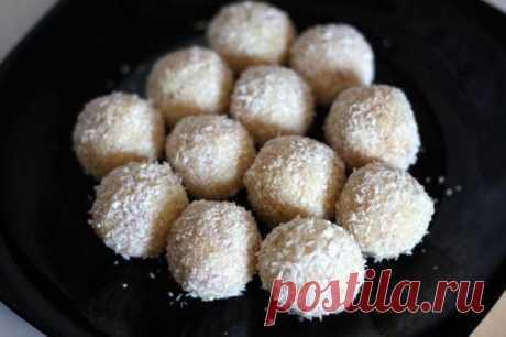 Как приготовить конфеты рафаэлло - рецепт, ингридиенты и фотографии
