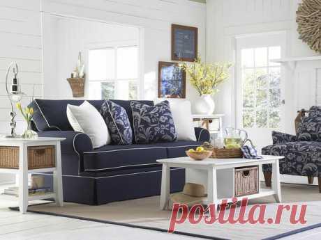 Кресла и диваны в интерьере в стиле прованс | flqu.ru - квартирный вопрос. Блог о дизайне, ремонте