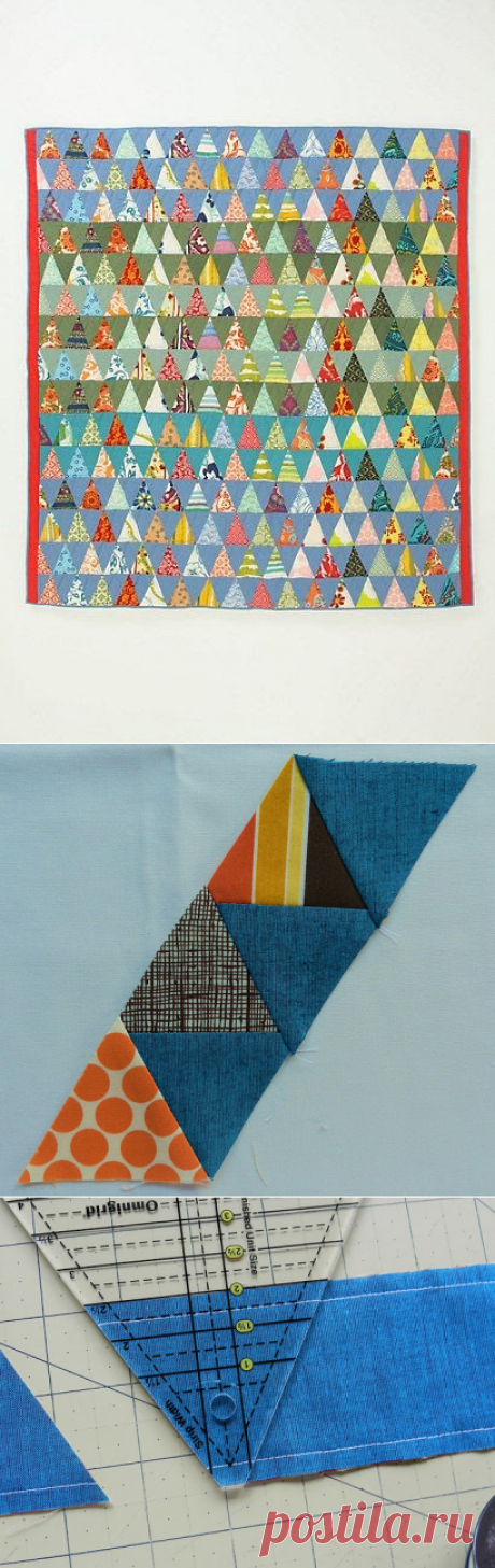 Molly Flanders: Pyramid Quilt