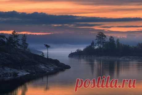 Ладожское озеро. Автор фото — Максим Евдокимов: nat-geo.ru/photo/user/113899/