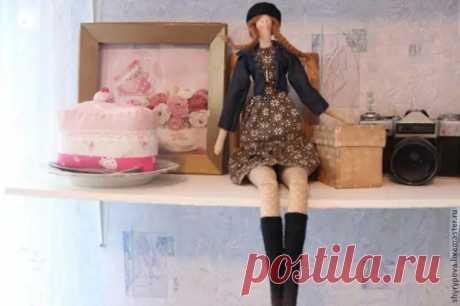"""Шьём очаровательную куклу тильду """"Парижанка"""", часть 2 - Сам себе мастер - медиаплатформа МирТесен"""