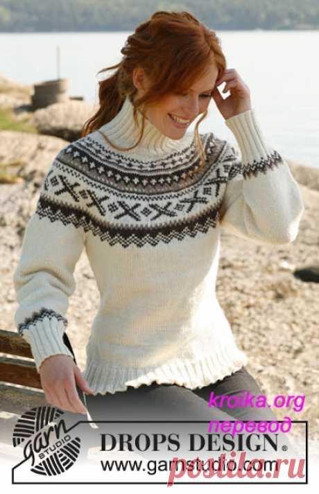 Мастера и умники: Два красивых свитера вяжем спицами