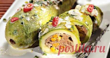 Фаршированные кабачки - самые вкусные рецепты простого и оригинального блюда