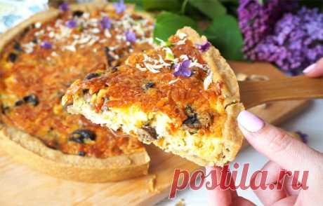 Пирог с грибами и курицей | Рецепты на SuperKuhen.ru