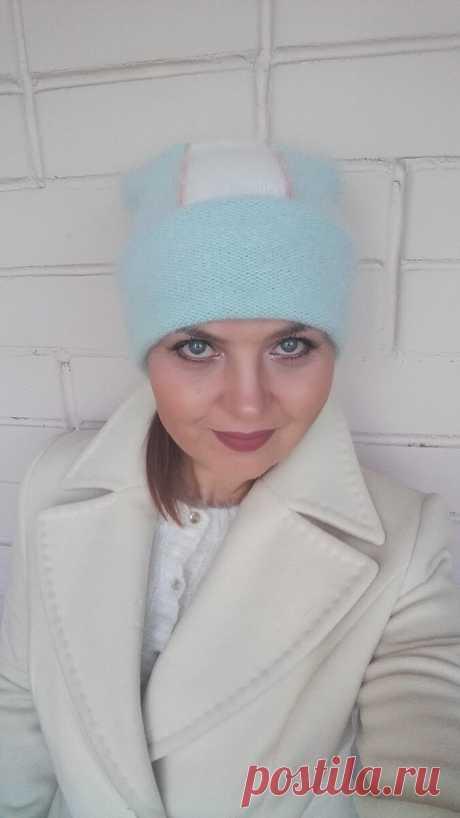 Описание - МК по стильной вязаной пушистой шапочке. Много эксклюзивной информации и фото | Бисер, творчество, рукоделие, МК | Яндекс Дзен