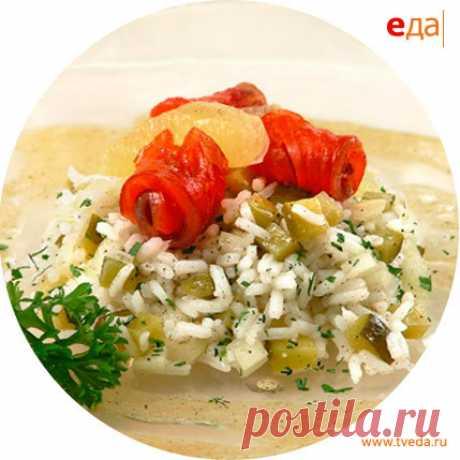 Салат с филе лосося - рецепт приготовления в домашних условиях