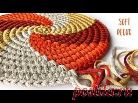 Fascinating Spiral 2   Round rug   Soft Decor - Tatiana Chakur