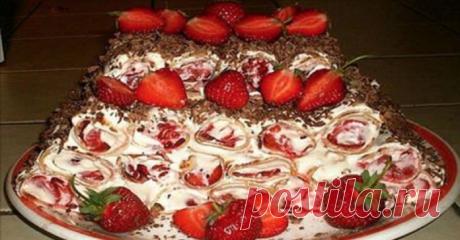 Непревзойденный ягодный торт без выпечки. Не упусти возможность приготовить этот шедевр!