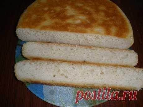 А хлеб я готовлю прямо в сковороде! Ароматный, мягкий, свеженький...
