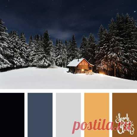 25 Winter Color Palettes | Inspiring color schemes by Sarah Renae Clark