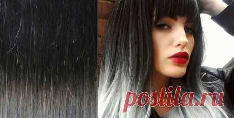 Красивое мелирование на черный цвет волос с фото