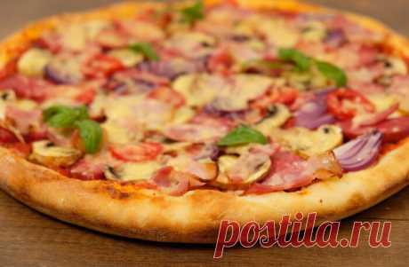 Быстрое тесто для вкусной пиццы в выходной день   Вкусно и полезно   Яндекс Дзен