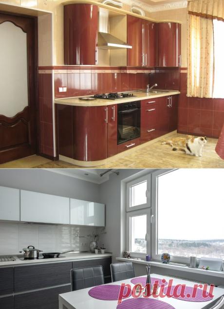 Глянцевые кухни: какой бывает кухня глянец и как ухаживать за ней?