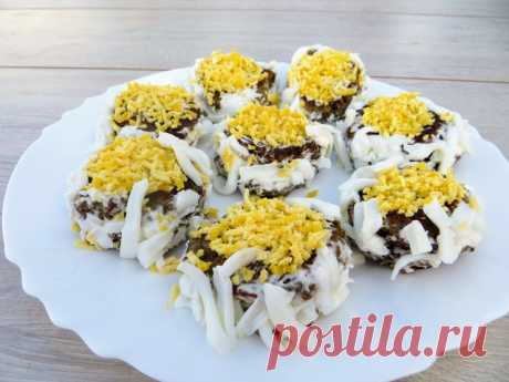 Закуска печёночные ромашки – пошаговый рецепт с фотографиями
