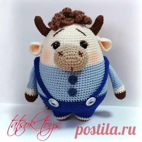 PDF Мастер-класс по вязанию бычка-пухлячка Аркадия крючком #схемыамигуруми #амигуруми #вязаныеигрушки #вязаныйбык #быккрючком #amigurumipattern #amigurumi #crochetbull #amigurumibull #crochetpattern #crochettoy #amigurumitoy #amigurumibull