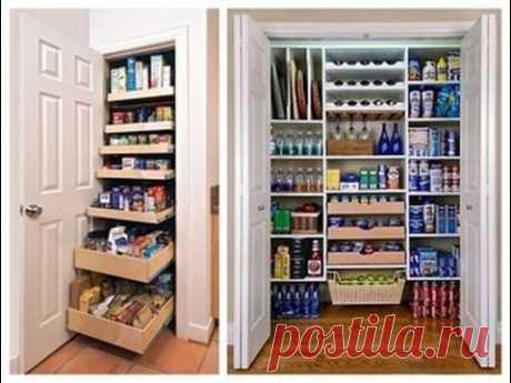 Организация и хранение вещей. Наводим порядок в кладовке / Home Organizing