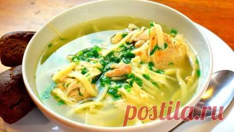 Chicken soup with a secret! You will lick fingers