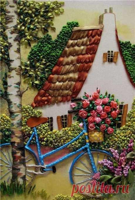 Beautiful Ribbon Art........