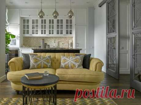 Интерьер комнаты с диваном. Много фото-идей | Журнал Ярмарки Мастеров