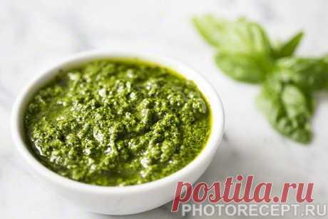 Итальянский соус песто (классический рецепт) - рецепт с фото пошагово Итальянский соус песто (классический рецепт) - пошаговый кулинарный рецепт приготовления с фото, шаг за шагом.