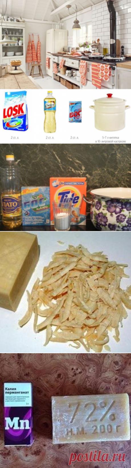 Отбеливаем кухонные полотенца / Как сэкономить