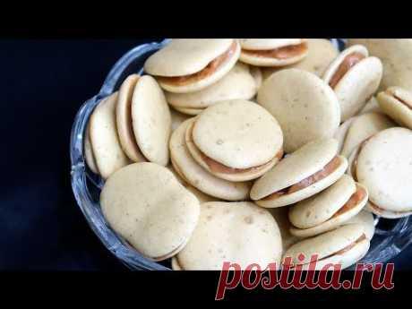 Быстрое печенье с вареной сгущенкой