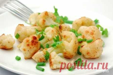 Цветная капуста в микроволновке - кулинарный рецепт на Повар.ру