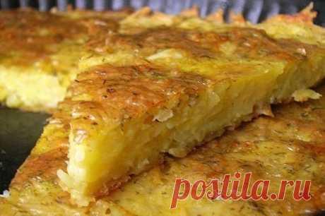 Запеканка из картофеля с сыром и чесноком - рецепт с фото - как приготовить - ингредиенты, состав, время приготовления - Дети Mail.Ru