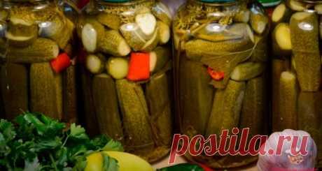 Самый вкусный рецепт маринованных огурцов - Сайт кулинарии
