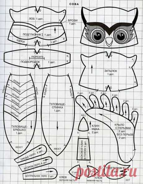 Идеи: из чего можно сделать совушку — Сделай сам, идеи для творчества - DIY Ideas