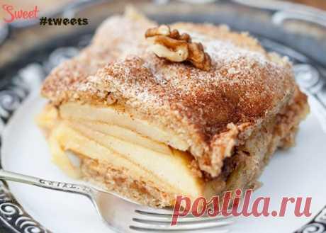 Шарлотка яблочно-карамельная | Sweet Twittes