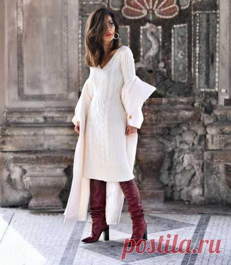 Модные трикотажные платья 2021: тренды и новинки, фото моделей