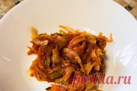 Овощное рагу с кабачками рецепт – русская кухня, веганская еда: закуски. «Еда»