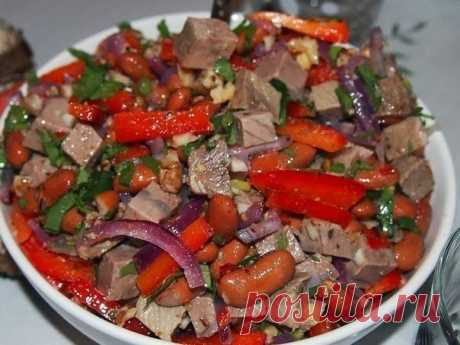 Tbilisi salad — my crown dish years 10! Usually friends have one delight after the first spoon!