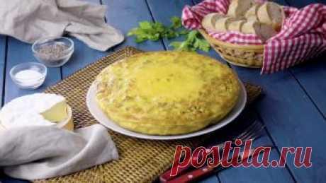 Вкуснейший омлет с картофелем и начинкой: самый оригинальный рецепт к завтраку.