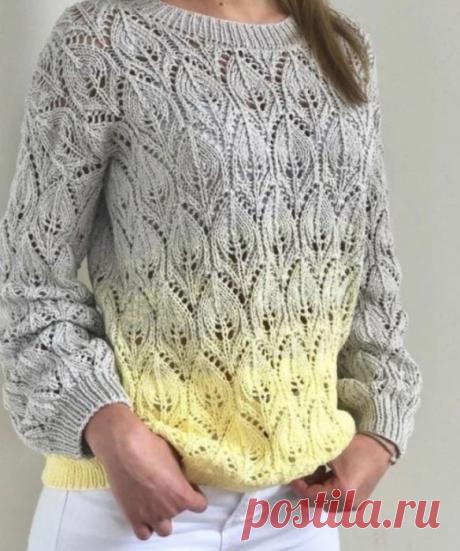 Три очаровательных модели вязания спицами на теплую осень