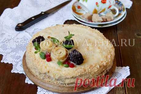 Pancake cake — the recipe with a photo step by step in house conditions | Magic Eда.ру
