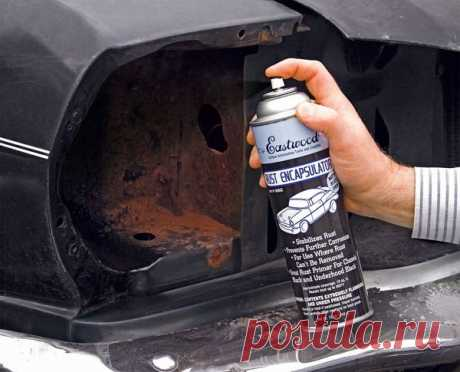 Rust solvent – an effective remedy for protection against corrosion   TuningKod
