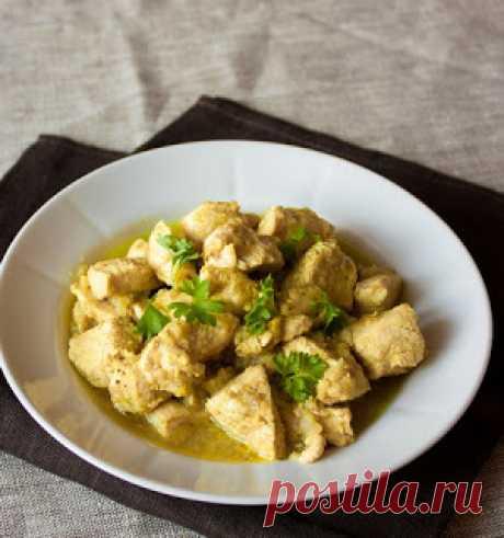 Самые вкусные рецепты: Простое карри из курицы